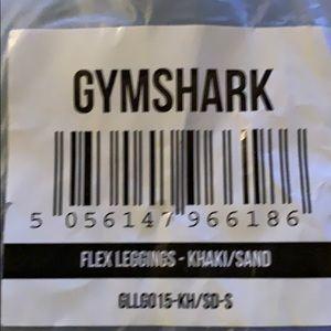 Gymshark flex leggings Khaki/Sand size small